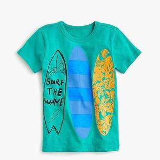 "J.Crew Boys' ""surf the wave"" T-shirt"