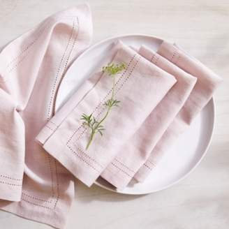 The White Company Picot Detail Napkins Set of 4