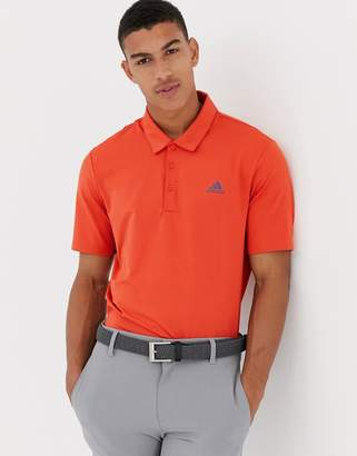 adidas Ultimate 365 Polo In Orange