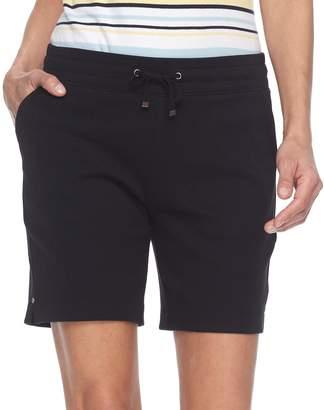 Croft & Barrow Petite Knit Bermuda Shorts