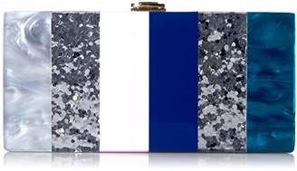 Milly Marble Box Clutch