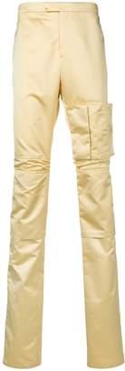 Raf Simons hybrid slim-fit trousers