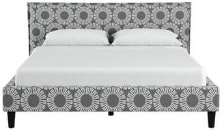 Wrought Studio Kelston Seamed Medallion Upholstered Standard Bed Wrought Studio