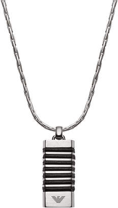 Emporio Armani Men's Stainless Steel Pendant Necklace