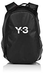 Y-3 Men's Coated Canvas Backpack-Black