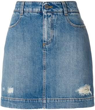 Stella McCartney fitted denim skirt