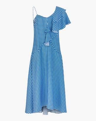 Paper London Maeva Ruffle Midi Dress