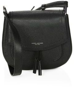 Marc by Marc Jacobs Maverick Leather Crossbody Bag $425 thestylecure.com