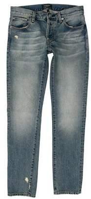 Earnest Sewn Distressed Skinny Jeans