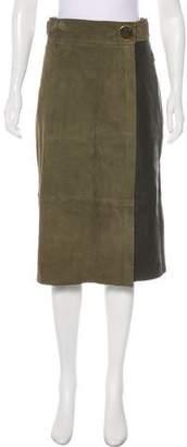 Tibi Leather Pencil Skirt w/ Tags