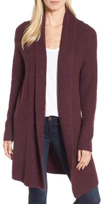 Halogen Textured Open Front Cardigan