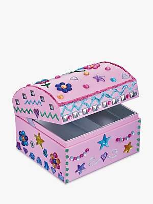 John Lewis Decorate Your Own Jewellery Box