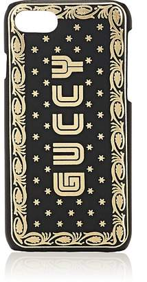 """Gucci Men's """"Guccy Moon"""" Leather iPhone® 7/8 Case"""