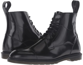 Dr. Martens - Winchester 7-Eye Zip Boot Lace-up Boots $150 thestylecure.com