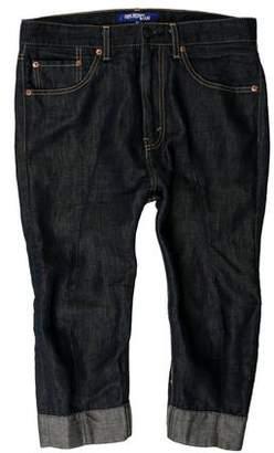 Junya Watanabe Comme des Garçons Cropped Five Pocket Jeans