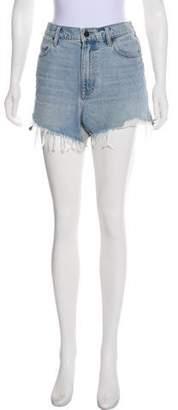 Alexander Wang High-Rise Mini Shorts