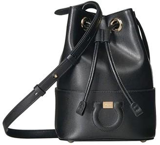 Salvatore Ferragamo Small City Bucket Bag