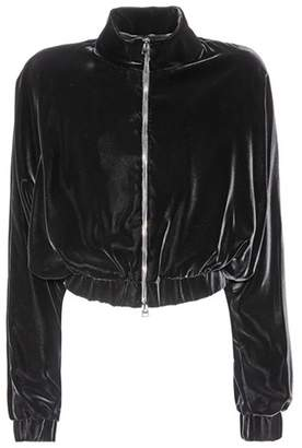 Tom Ford Cropped velvet jacket