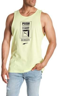 Puma Logo Tower Graphic Tank