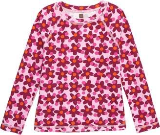 Tea Collection Floral Rashguard Top