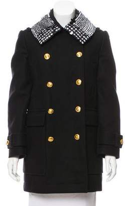 Altuzarra Embellished Wool Coat w/ Tags