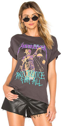 Daydreamer Metallica Justice For All Boyfriend Tee