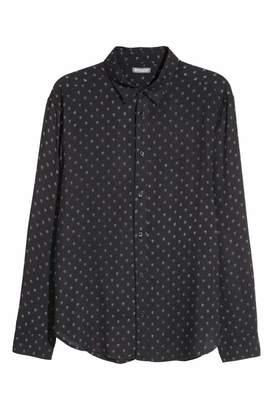H&M Viscose Shirt - Black/skulls - Men
