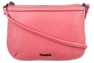 Calvin Klein Grained Leather Crossbody Bag