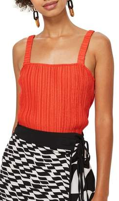 Topshop Crinkle Camisole