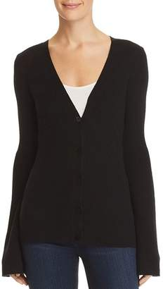 Theory Flared-Sleeve Cashmere Cardigan - 100% Exclusive