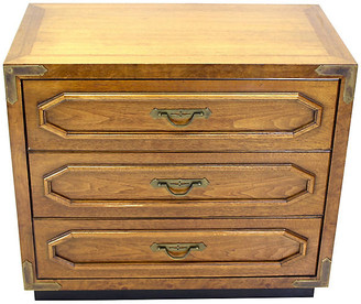 One Kings Lane Vintage Midcentury Walnut Dresser - Vintage Bella Home