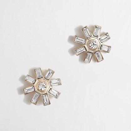J.Crew Factory Factory sunburst stud earrings