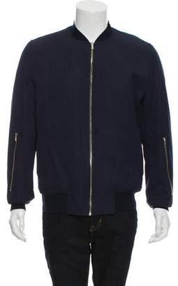 Christian Dior Knit Bomber Jacket