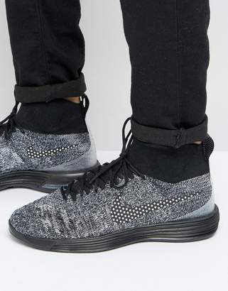 Nike FC Lunar Magista Sneakers In Black 876385-001