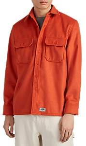 Dickies CONSTRUCT Men's Logo Felt Workshirt - Orange