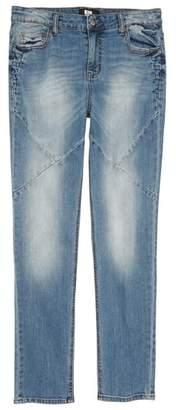 Elwood Pieced Skinny Jeans