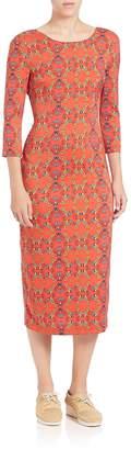 Suno Women's Stretch-Silk Backless Dress