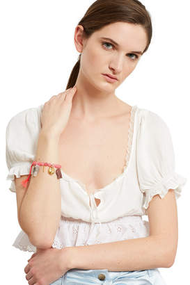 Venessa Arizaga Pink Elephant Bracelet