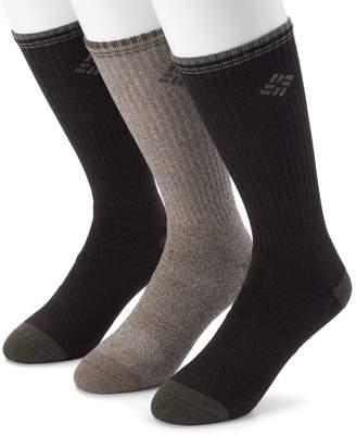 Columbia Men's 3-pack Striped Crew Socks
