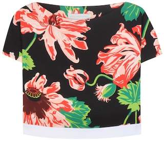 Stella McCartney Printed cropped top