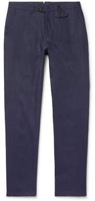 Oliver Spencer Fishtail Linen Trousers