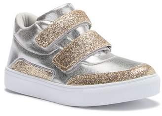 Hoo Double Strap High Top Sneaker (Toddler, Little Kid, & Big Kid)