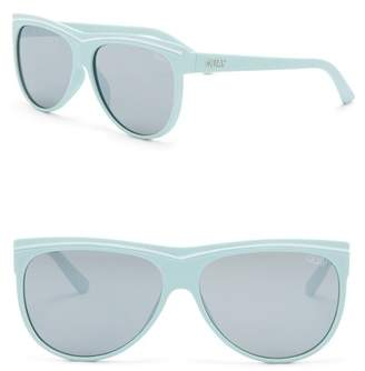 Quay Women's Hollywood Nights 55mm Shield Sunglasses