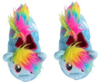 My Little Pony Girls' Slide Slippers Rainbow Dash (S 5-6)