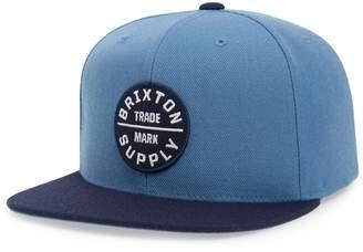 Brixton 'Oath III' Snapback Cap