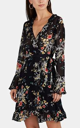 By Ti Mo byTiMo Women's Floral Georgette Wrap Minidress