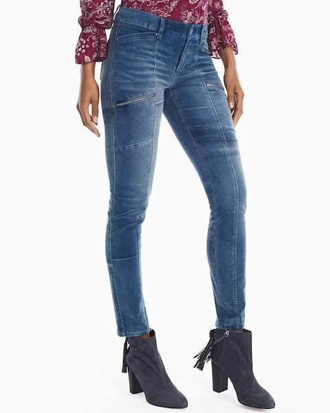 Corduroy Skinny Utility Jeans