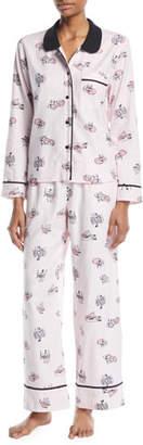 Kate Spade Foxy Lady Classic Pajama Set