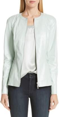 dc3524fec22 Lafayette 148 New York Janella Leather Jacket