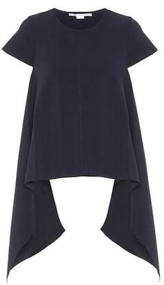 Stella McCartney Draped knitted top